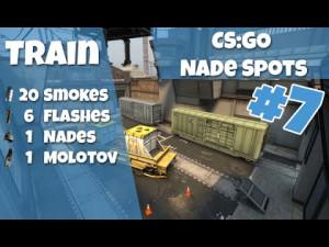 CS:GO Nade Spots Train